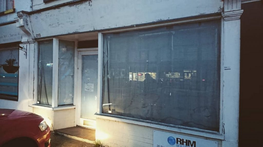 Here's where it all begain. The Window Gallery when it was just a grubby disused shop