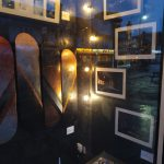 A closer look at the skateboard exhibition