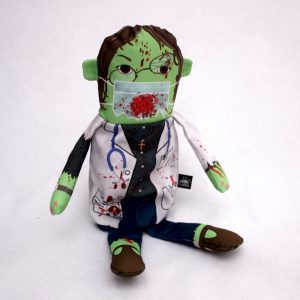 Flipping Zombies Doctor Doll