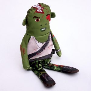 Flipping Zombies Army Doll