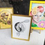 Smaller pieces from the January 2020 Exhibition by Teigh-Anne Shave